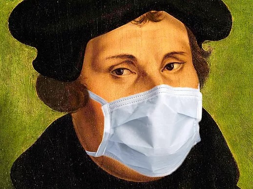 Luther járvány idején