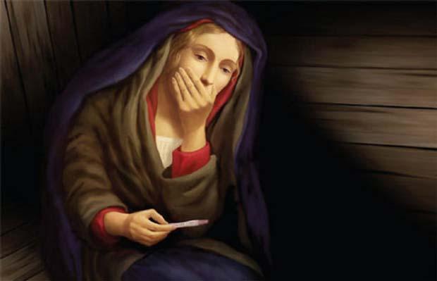 Mária nem tervezett terhessége: Jézus