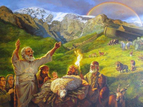 """""""Megemlékezett Isten Noéról.."""" (1Móz 8,1)"""