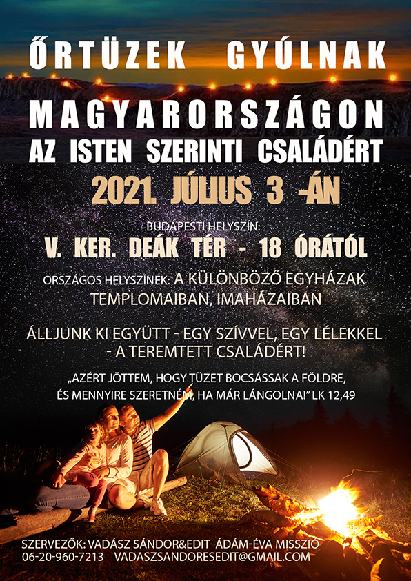 Őrtüzek gyúlnak Magyarországon