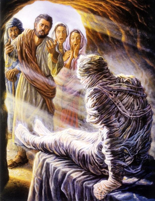 Böjt 4. vasárnapja – Lázár feltámasztása