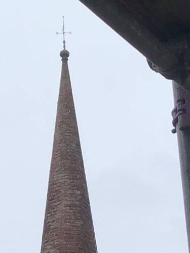 Elizabeth Tanner- Skócia, St. Mary's-Greyfriars'-Dumfries - kereszt a templomtornyon - 18+