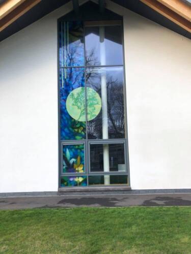 Elizabeth Tanner- Skócia, St. Mary's-Greyfriars' Church- Dumfries - kereszt az ablakban - 18+